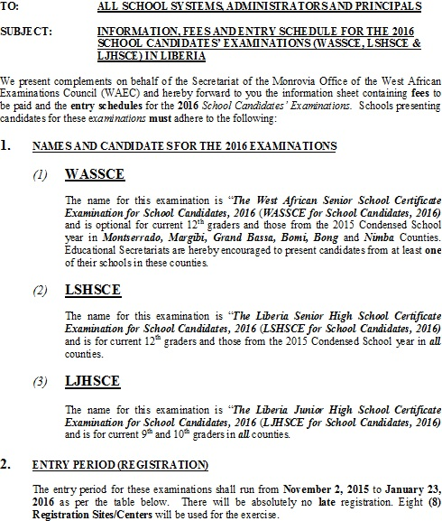 west african senior school certificate examination Do west african senior school certificate chemistry practical examination questions promote utilization of higher-order science process skills.